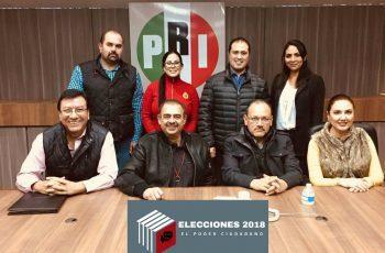 Nombra PRI a nuevos Presidentes y Secretarios Generales de Comités Municipales