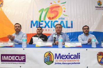 Con el deporte celebrarán también el 115 Aniversario de Mexicali