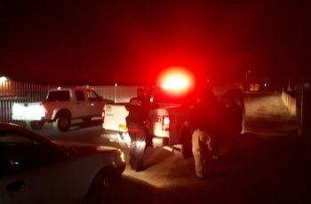 Hacen operativo nocturno en el Valle de Mexicali
