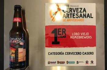 Premian a cerveza artesanal representante del Aniversario de Mexicali