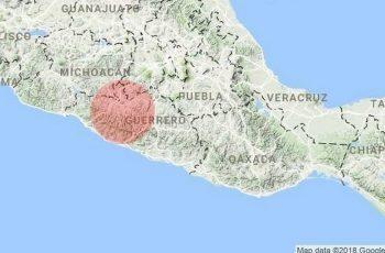 Se registra sismo de 5.2 en Guerrero