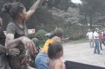 Decenas de muertos tras erupción en Guatemala