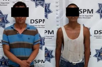 Detienen a cuatro acusados de robo; dos son menores