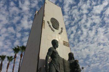 Se suma Núñez a embellecimiento del monumento a Benito Juárez
