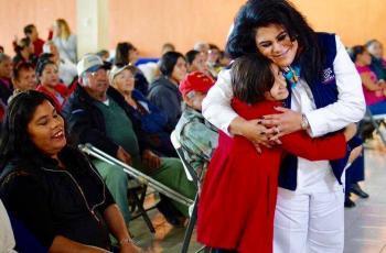 Entrega DIF Mexicali apoyos a sanfelipenses