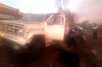 Un muerto y tres heridos en accidente en el Valle