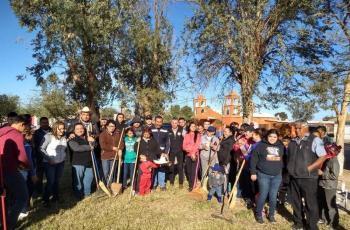 Mejoran entorno del ejido Tehuantepec