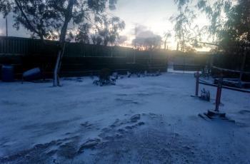 Alerta ante frío, lluvias y nevadas en Baja California