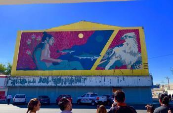 Plasman la historia de Mexicali en murales