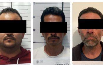 Sacan de circulación a tres prófugos de la justicia