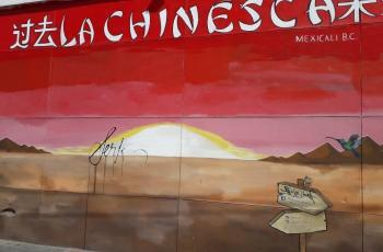 Vandalizan mural de La Chinesca