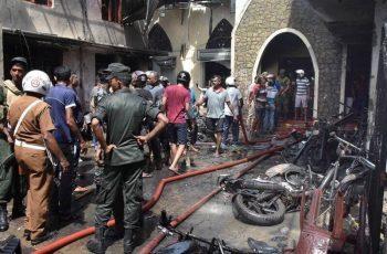 Mas de 200 muertos en atentados en Sri Lanka