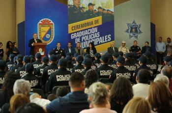 Mexicali tiene 48 nuevos policías