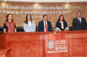 Gómez Macías preside Mesa Directiva de la XXII Legislatura