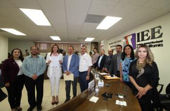 Se registra Marina del Pilar como candidata a la Alcaldía de Mexicali