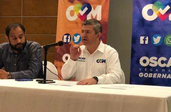 Propone Óscar Vega inhabilitación de por vida a corruptos