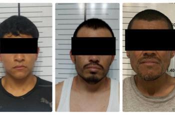 Federales hacen operativo en colonias populares; atrapan a tres prófugos
